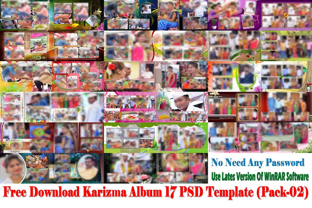 Karizma Album 12x36 Templates Free Download