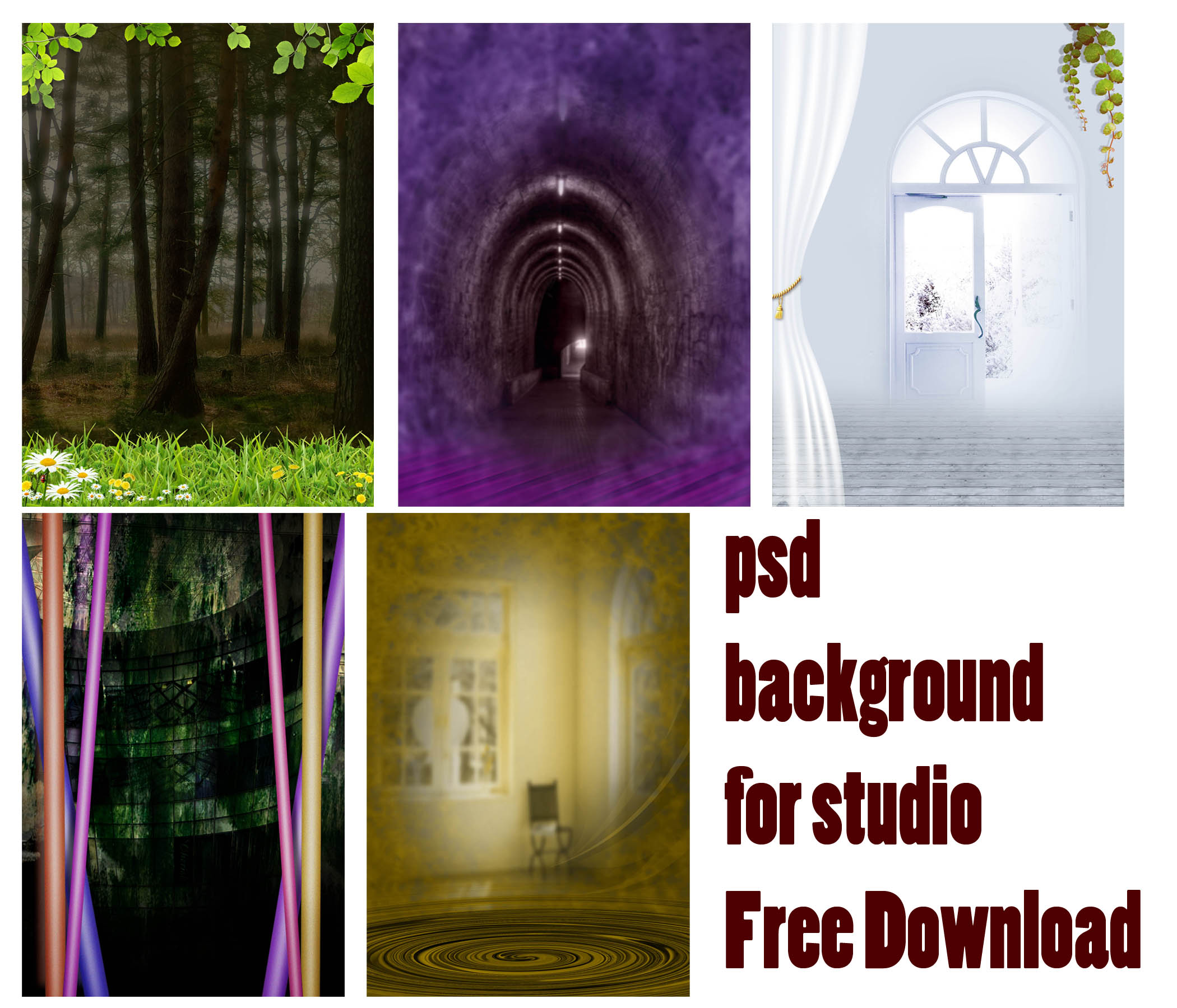 studio psd background