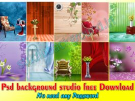 Psd background studio